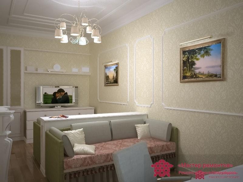 Дизайн проект квартиры 504 серии