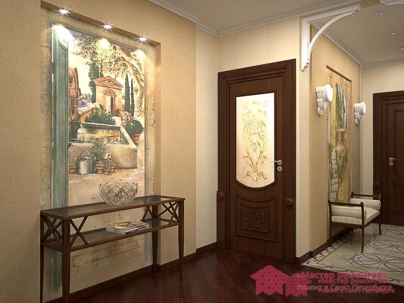 Дизайн коридора 137 серия