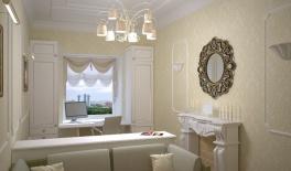 Проект 2-комнатной квартиры 55 кв.м. Московский пр