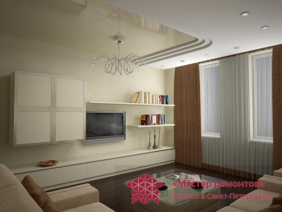 3-комнатная квартира, 134 кв.м.