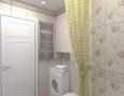 2-комнатная квартира, 55 кв.м.